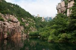 the lake in mountain