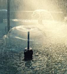 Wasserschirm