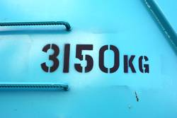 3150 kg Container