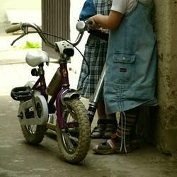 Mini-Fahrradgang