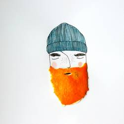 Man with orange beard