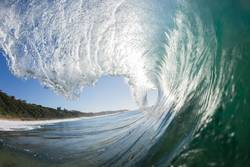 Ocean Swimming Wave Hollow Inside Out