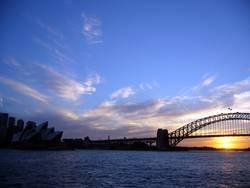 """Sunset in Sydney"""