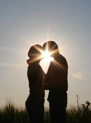 Kuss in der Sonne II