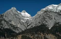 Karwendl in der Wintersonne