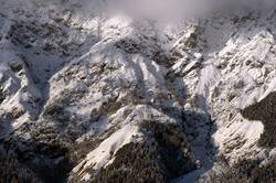 Morgennebel im Hochgebirge