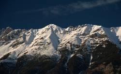 Innsbrucker Nordkette im Winter