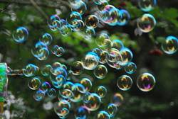 Seifenblasen, Bunt, Träumen, Entspannen,