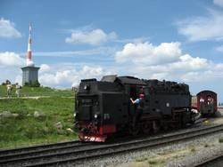 Höchster Bahnhof Norddeutschlands - Brocken im Harz 1140m