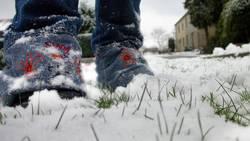 erster schneee