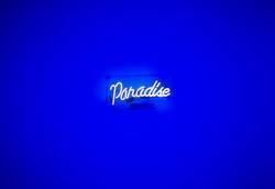 Paradise Neon Sign