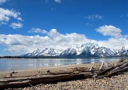 Grand Teton National Park Panorama