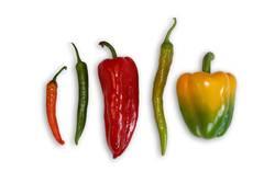 paprika, peperoni