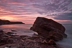 Sunset at Whitley Bay