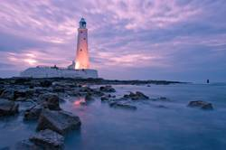 Rocky Shore St Mary's Lighthouse