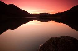 Beautiful Sunset at Buttermere