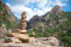 Steinmännchen auf Korsika