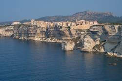 Blick auf die Küste von Bonifacio / Korsika
