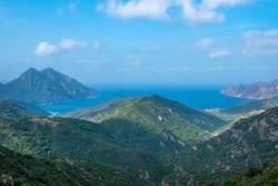 Küstenlandschaft auf Korsika