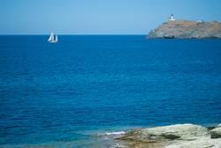 Segler am Cap Corse / Korsika