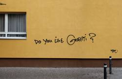 Do you like graffiti?