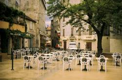 Dorfplatz auf Korsika