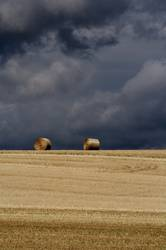 Two Haybales