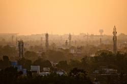 Sunset in Chennai