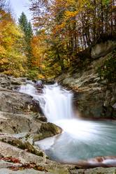 Waterfall of the Cube, Selva de Irati, Navarra