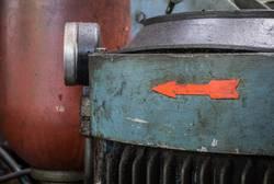 Electric engine of a hydraulic unit.