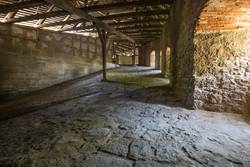Inside the Bastion of Rothenburg.