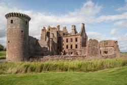 Caerlaverock Castle near Dumfries.
