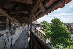 Medieval city wall.