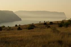 sunrise in Sevastopol