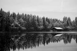Haus im See