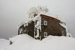 Frozen meteostation
