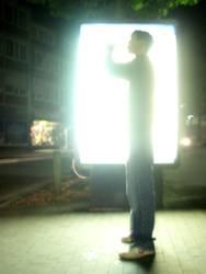 da leuchtet er....