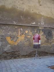 Kleiderständer in Prag