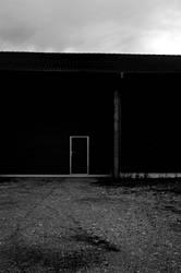 black shed