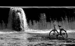 water & bicycle?