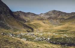 Bergpanorama vom Hirzer in Südtirol | E5