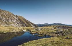 Südtiroler Bergsee | Hirzer | E5 Alpenüberquerung