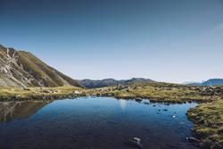 Bergsee auf dem Südtiroler Hirzer | E5