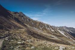 Bergpanorama in Südtirol | E5 Alpenüberquerung