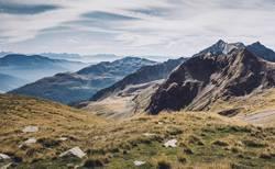 Ausblick vom Hirzer in Südtirol | E5