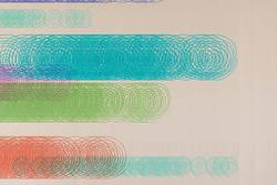 abstraktes Design - bunte Spiralen - kreative Grafik