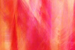 Farbspiel Rot, Pink, Gelb, Orange