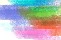 abstraktes Design - bunte Spiralen - grafische Formen