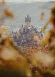 Reichsburg in Cochem im Herbst