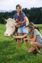 Zwei Cowgirls